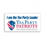 Tea Party Patriot Bumper Sticker