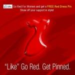 Red Dress Pin Via Facebook