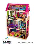 KidKraft Glamour Dollhouse with Lights & Sound
