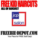 Kids Haircuts From Jcpenney In August.