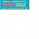 Free clothes at Sears Tuesdays In August