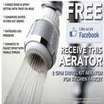 Kitchen Faucet Aerator From Kingston Brass