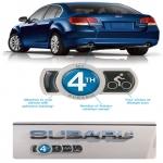 Subaru Badge Of Ownership For Subaru Owners