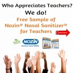 Nozin Nasal Sanitizer For Teachers