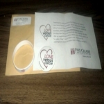 Love Versus Cancer Button Or Wristband