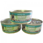 Can Of Innova And Sheba Cat Food