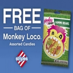 Bag Of Monkey Loco Gummi Bears At Stripes Today And Tomorrow Only