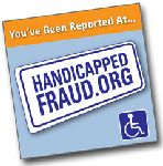 Post It Note – Report Handicap Fraud