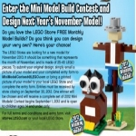 Build A Lego Cat Oct. 2nd At Your Lego Store