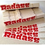 Radass Sticker