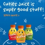 8oz Bottle Of Cuties Juice