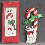Fancy Feast Cat Christmas Ornament