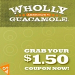 Save $1.50 On A Wholly Guacamole Product