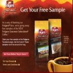 Folgers Coffee Sample