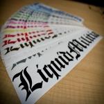 Stickers From Liquid Militia