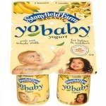 Possible Yobaby Organic Yogurt