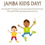 Jamba Kids Smoothie On 727.