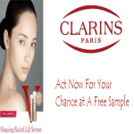 Shaping Facial Lift Serum Sample From Clarins.