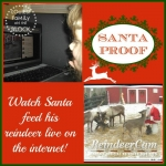 Watch Santa Feed The Reindeer For Free!