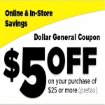 $5 Off Plus $100 In Coupons From Dollar General!