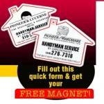 Fridge Magnet From Pioneer Hardware