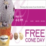 Cone Day At Haagen-dazs Shops On May 13th