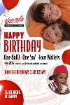 Olan Mills Children Birthday Portraits