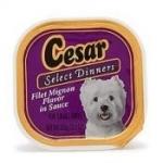 Cesar Dog Food Sample