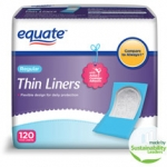 New From Walmart – Equate Ultra Thin Kit Includes: