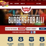 Red Robin Royalty Rewards Program