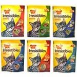 Pkg Of Meow Mix Irresistibles Cat Treats