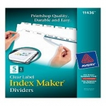 Avery Index Maker Dividers