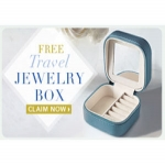 Travel Jewelry Box With Virginia Slims