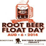 Root Beer Float At Aw On August 6