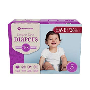 5ct Signature Care Baby Diapers