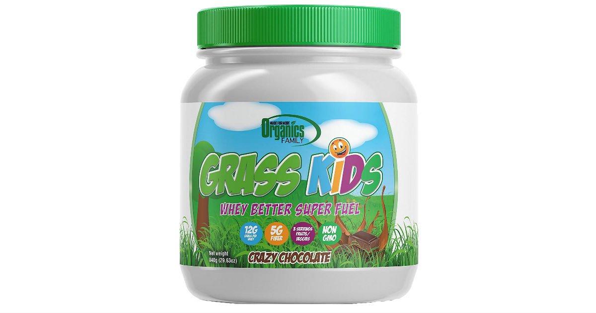 Organics Family Grass Kids Whey Powder