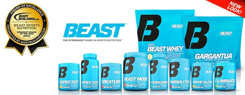 Beast Sports Nutrition Samples