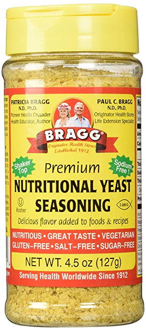 Bragg Seasoning And Nutritional Yeast