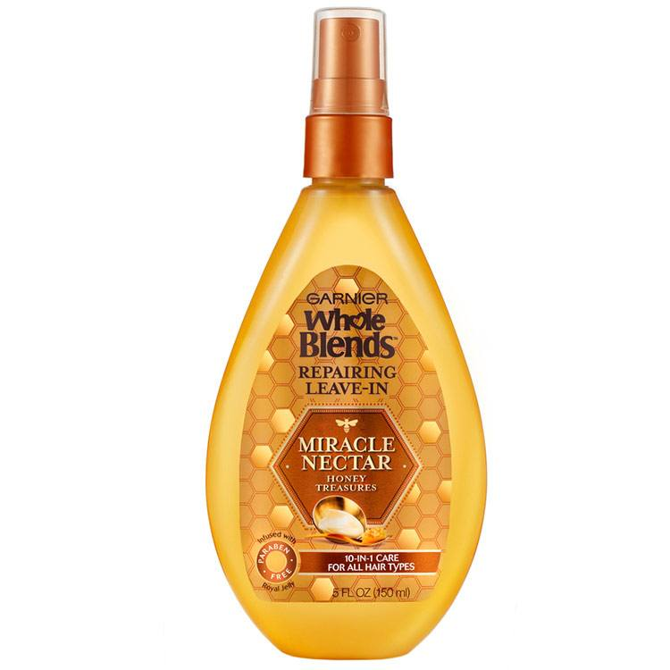 Garnier Whole Blends Miracle Nectar Repairing Leavein Treatment